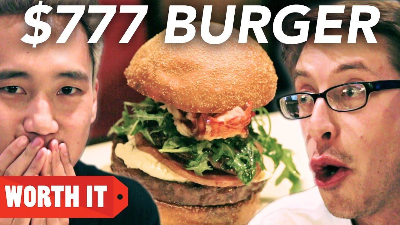 Разликата меѓу хамбургер од $4 долари и $777 долари