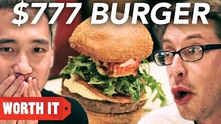 "$4 Burger Vs. $777 Burger(I don't want this burger to ever end."" Check out more awesome videos at BuzzFeedVideo! http://bit.ly/YTbuzzfeedvideo Did you know BuzzFeed has ..., 2016-09-25T14:00:03.000Z)"