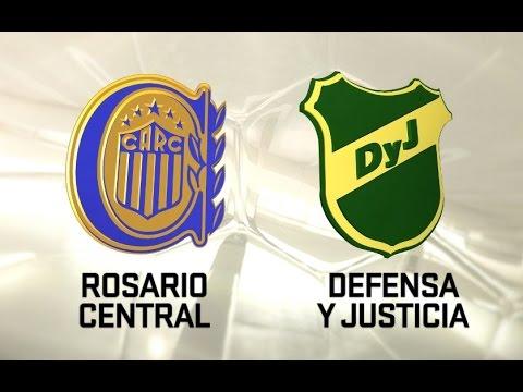 Rosario Central vs. Defensa y Justicia. Fecha 1. Torneo de Primera División 2016/2017. FPT