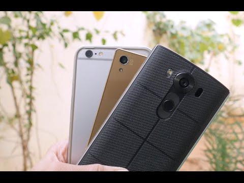 مقارنة 3 كاميرات: LG V10 | iPhone 6S Plus | Xperia Z5 Premium - أيهم أفضل ؟