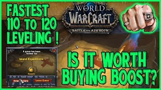 Turbo LEVELING 110-120 by Twink Boost in Island Expeditions - IS IT WORTH!?