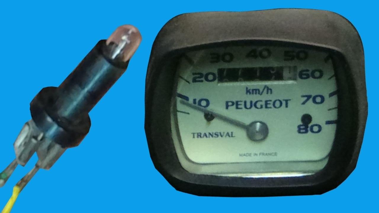 Compteur TRANSVAL mobylette PEUGEOT 103 MVL Vogue transmission NEUF tachometer
