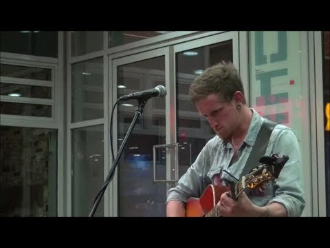 Lewis E. Carroll Irish Musician from Galway at the Underground Station Potsdamer Platz Berlin Pt.1+2