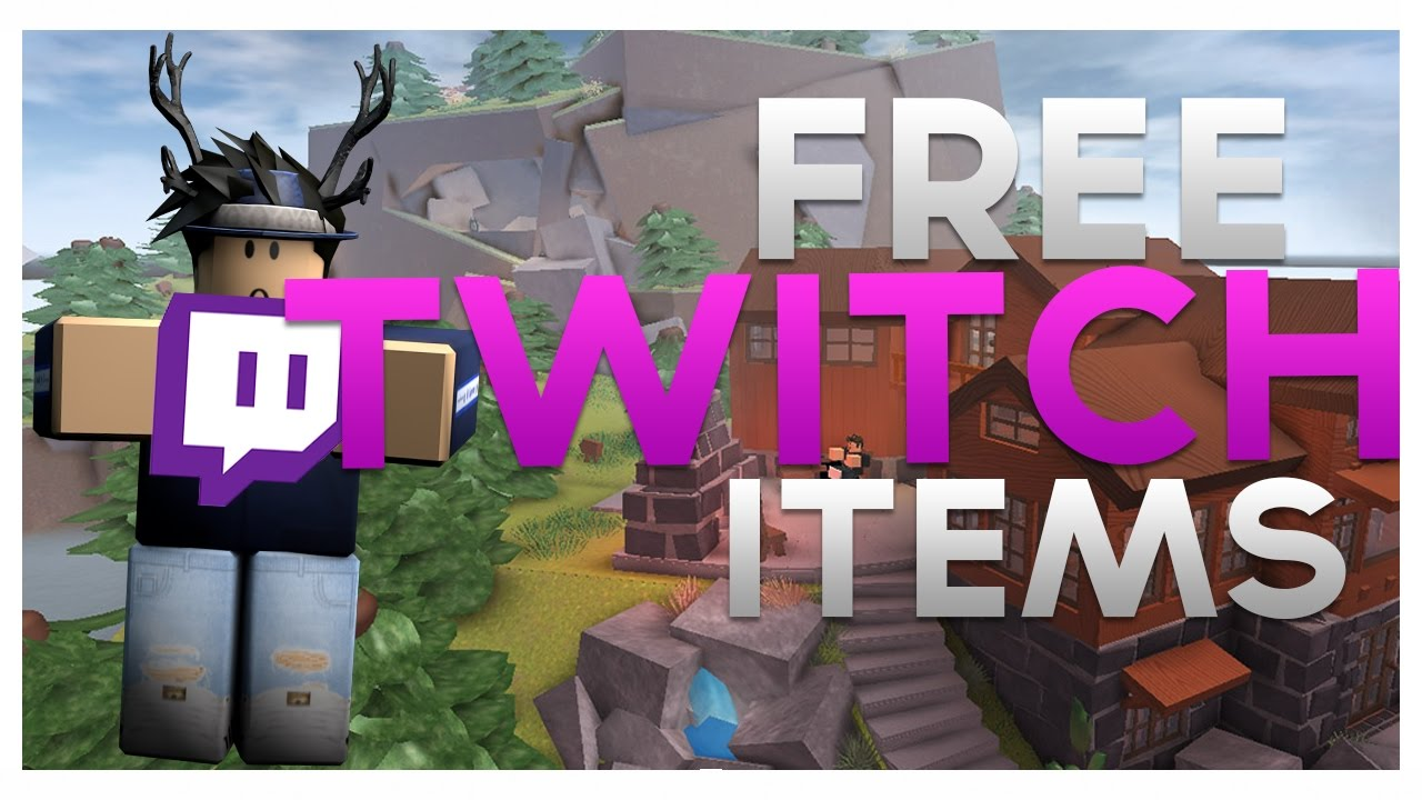 How To Get Free Twitch Items On Roblox! [No longer working ...