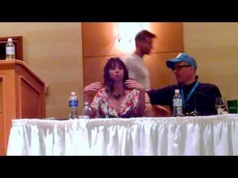 Ariel Rebel speaking at The Phoenix Forum