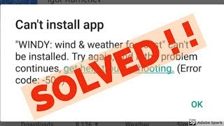 Gambar cover How to fix can't install app error code 504/505 in google play store