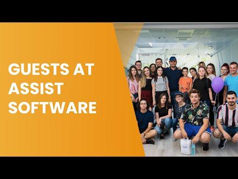 """Cursanții proiectului """"Get Digital!"""" în vizită la ASSIST Software"""