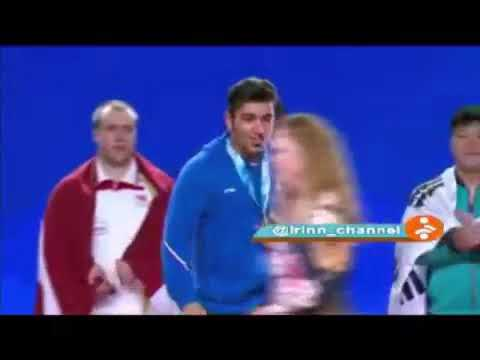 Video Topic : After Winning Medal, Ali Hashmi From Islamic Republic Of Iran Din't Shake Hand With Fe