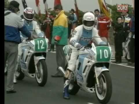 Retro bike racing - Legends of the roads - 1989 Isle of Man TT - Supersport Race