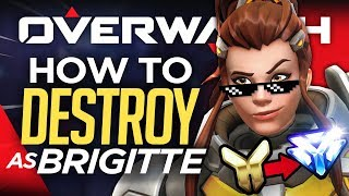Top 5 Brigitte Tips to Rank Up FAST! (Overwatch Guide)