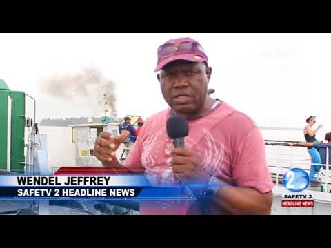 SAFETY COMPROMISED AS SURINAME FERRY GOES FOR REPAIRS