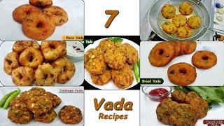 7 Vada Recipes  Quick & Easy Vada Snack Recipes