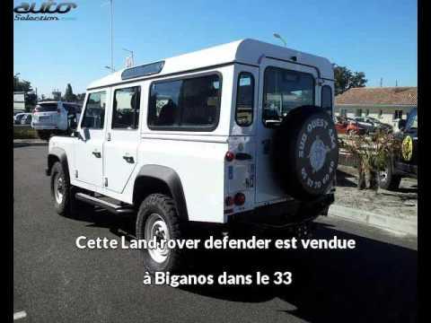 Land Rover Defender Occasion Visible à Biganos Présentée Par