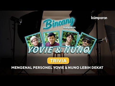 Trivia | Mengenal Personel Yovie & Nuno Lebih Dekat