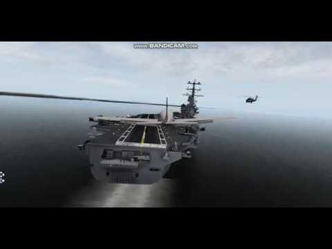 X-Plane10: Piper Malibu landing to Aircraft carrier USS Nimitz from KOBE airport
