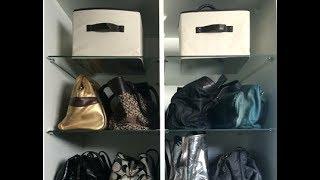 Como organizar closet ou armário - bolsas e acessórios Thumbnail