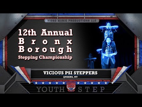 VICIOUS PSI STEPPERS - 12th Annual Youth Step USA Bronx Borough Championship