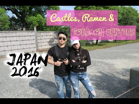 Kyoto Vlog | Day 1: Nijō Castle, Pokémon Center, Burnt Ramen & Matcha Desserts