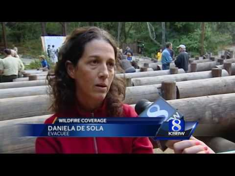 Firefighters update Big Sur residents who are hungry for information
