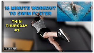 Workout at home for swimmers. Core. Follow along. Thin Thursday #3