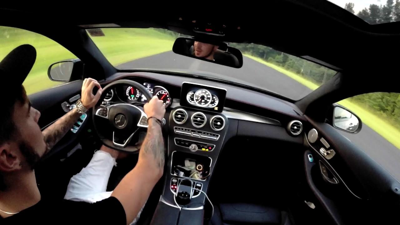 2017 mercedes c43 amg automatic shifting vs manual shifting youtube rh youtube com c63 amg manual transmission swap c63 amg manual transmission conversion