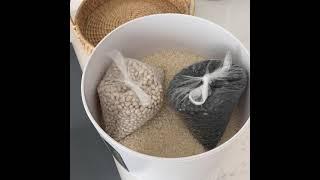 제니퍼룸 진공쌀통
