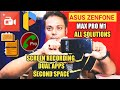 Asus Zenfone Max Pro M1 All Solutions | Dual Apps, Screen Recorder, Second Space, Video Calling |