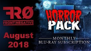 August 2018 Blu-Ray Horror Pack Unboxing