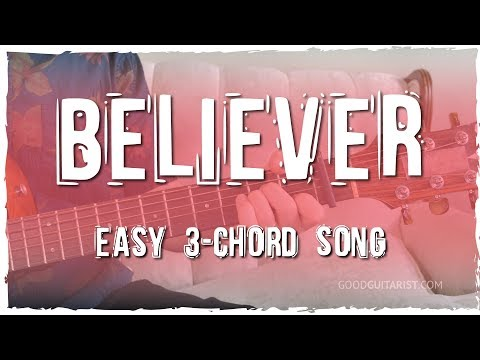 """Believer"" Guitar Tutorial - Imagine Dragons 