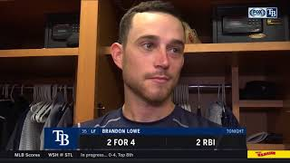 Brandon Lowe -- Tampa Bay Rays at New York Yankees 08/15/18