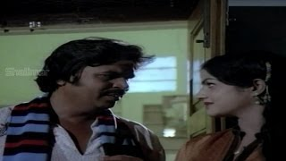 Bahudoorapu Batasari Movie (1983) | Romantic Scene Between Dasari & Lady Constable