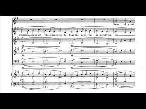 Fantasia on Christmas Carols  ~ Vaughan Williams (Robertson, cond.)