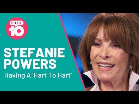A 'Hart To Hart' With Stefanie Powers | Studio 10