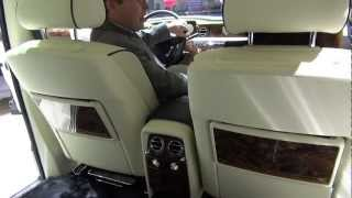 Rolls Royce Ghost and stand and accessories at Geneva Salon 2013