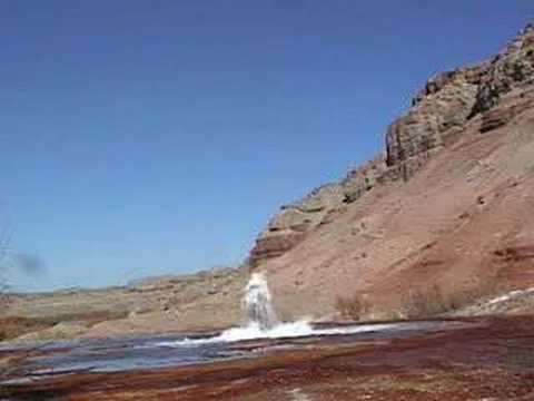 Cold Water Geysers