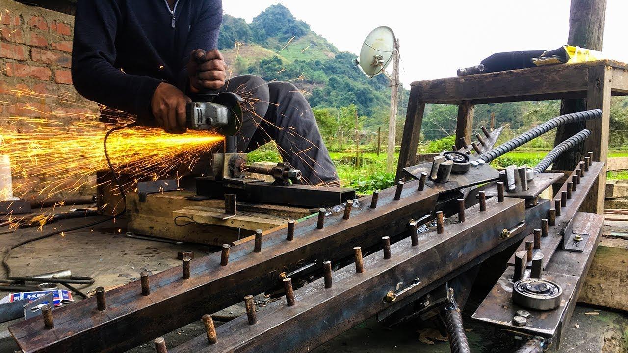 Bàn bẻ đai sắt xây dựng thủ công của thợ hồ – máy bẻ đai sắt