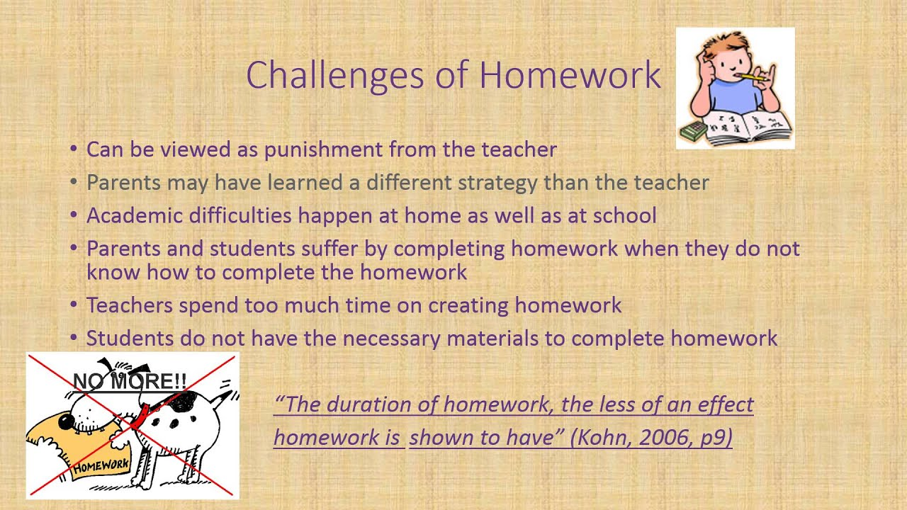 homework is not necessary essay