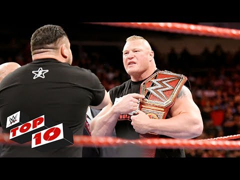 Top 10 Raw moments: WWE Top 10, July 10,...