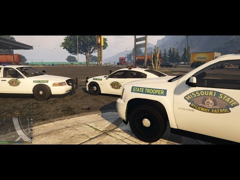 Grand Theft Auto 5 - Missouri Highway Patrol - Livery Mod - GTA 5