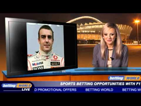 Sports betting opportunities with F1