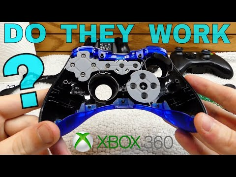 DO THEY WORK?!? Cleaning the XBOX 360 Controllers | So FILTHY!