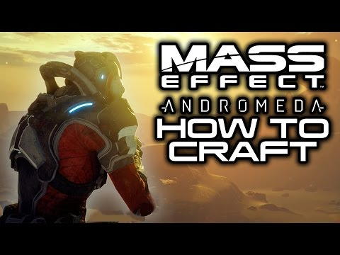 MASS EFFECT ANDROMEDA: How To Craft Weapons and Armor! (Research & Development Basics Guide)