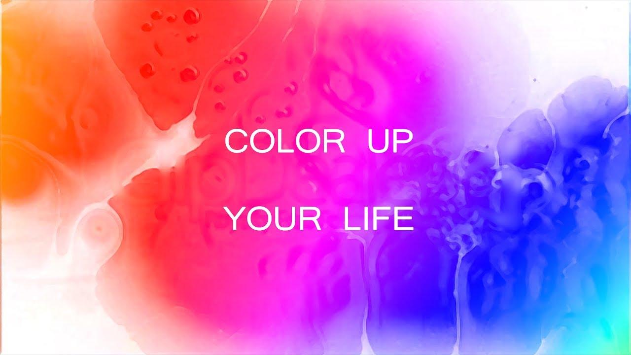 color up your life youtube. Black Bedroom Furniture Sets. Home Design Ideas