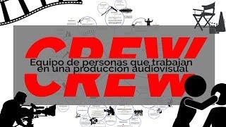 Crew: Personas que participan en una productora de cine- Roles - Créditos de las películas.