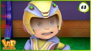 Vir: The Robot Boy | Madmax's UFO | Action cartoons for Kids | 3D cartoons