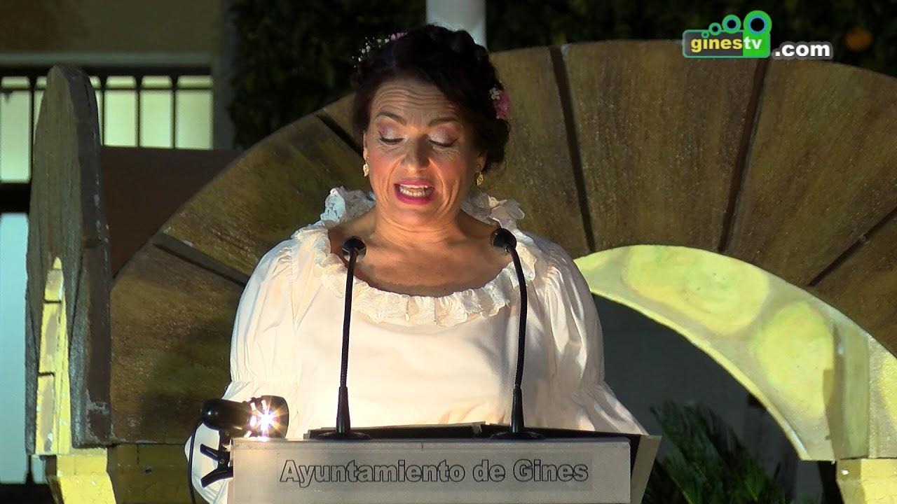 Pregón Inaugural del XII Mercado Medieval y Navideño, a cargo de Ana Romero