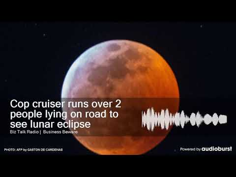 Cindy Scull Mornings -  Cop Runs over 2 People Laying in Road Watching Eclipse