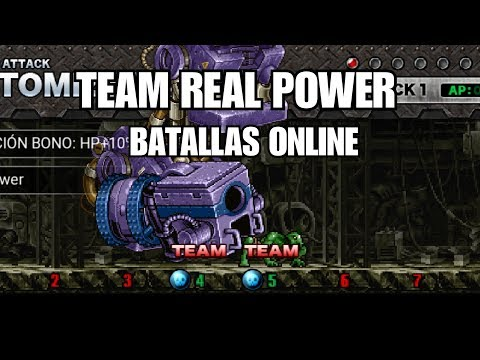 Metal Slug Attack - TEAM REAL POWER / JHON REAL & SOLDADO MUTANTE ( NEO ) ONLINE