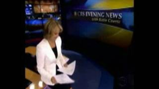 CBS Evening News with Katie Couric Closing
