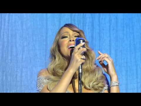 Mariah Carey Against all odds. Live in Glasgow